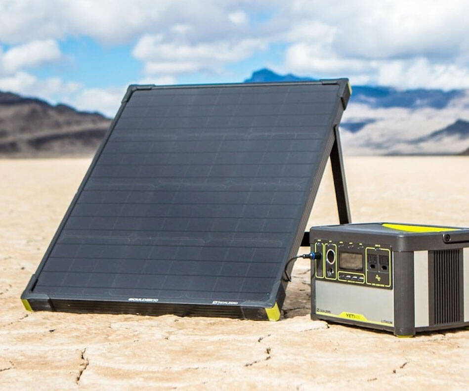 Goal Zero Solar Panels - http://coolthings.us