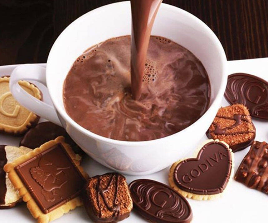 Godiva Hot Chocolate - http://coolthings.us