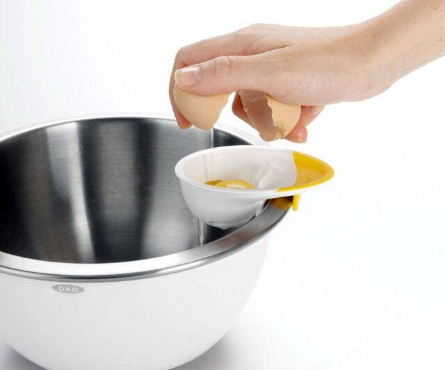 Good Grips 3-in-1 Egg Separator - http://coolthings.us