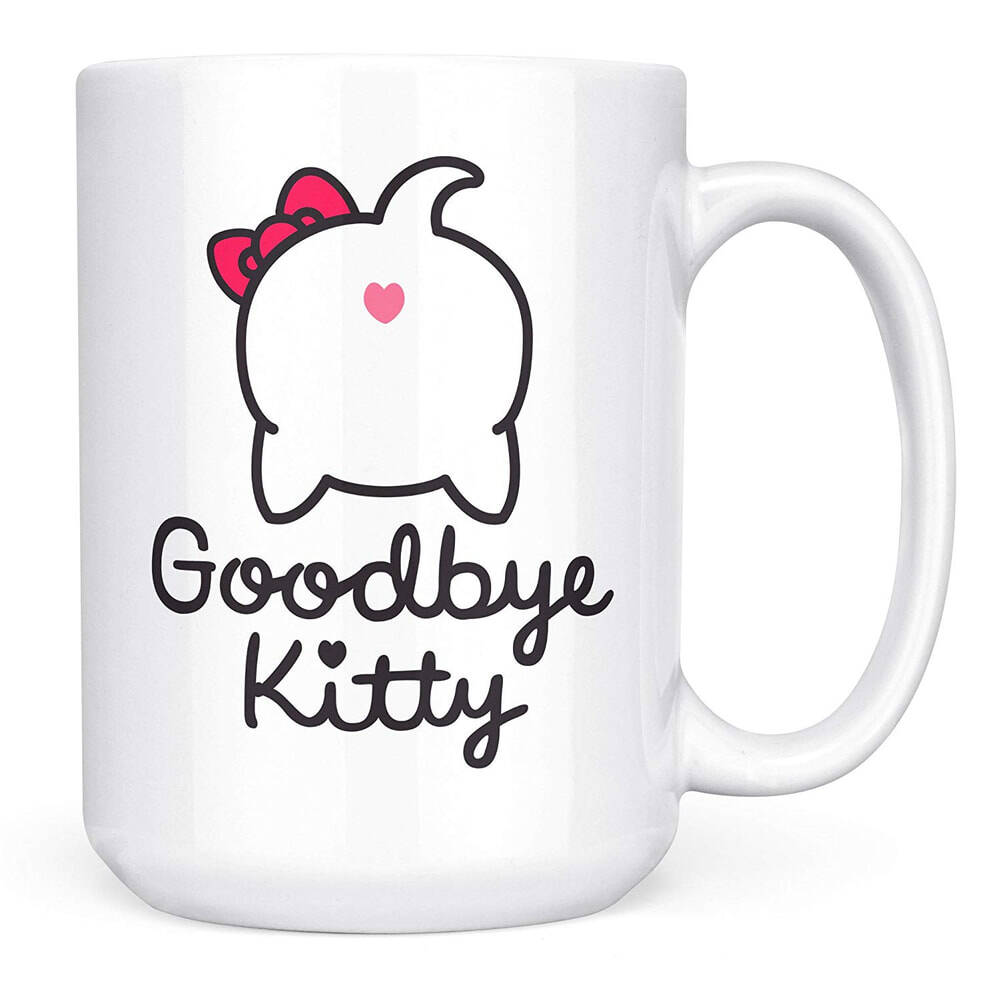 Goodbye Kitty Mug