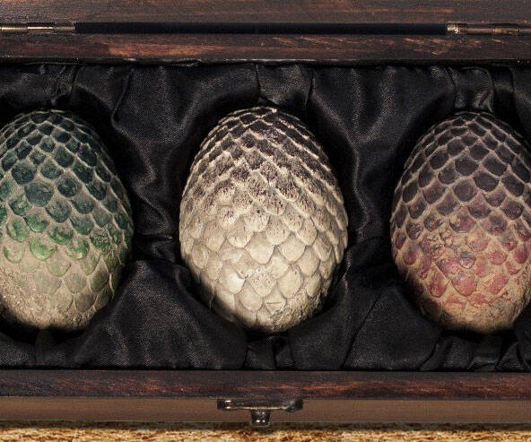 Game Of Thrones Dragon Eggs Set - http://coolthings.us