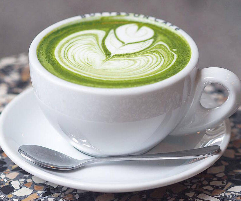Green Tea Latte Mix - http://coolthings.us