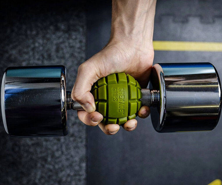 Grenade Bar Grips - http://coolthings.us