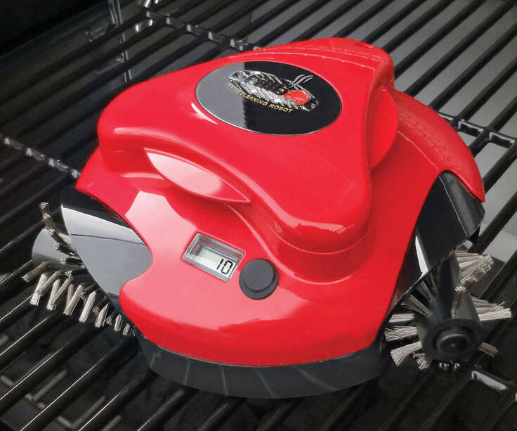 Barbecue Grill Cleaning Robot - coolthings.us
