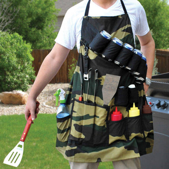 Grill Sergeant Apron - http://coolthings.us
