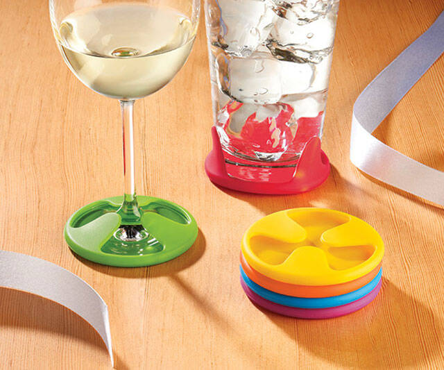 Grip Coasters - http://coolthings.us