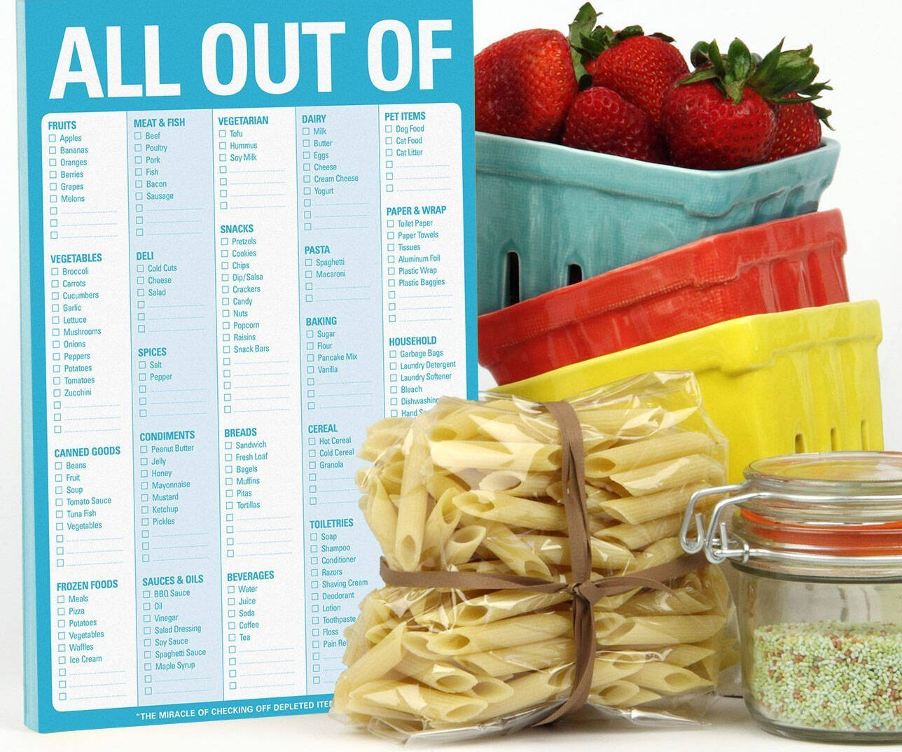 Grocery Shopping Checklist - http://coolthings.us