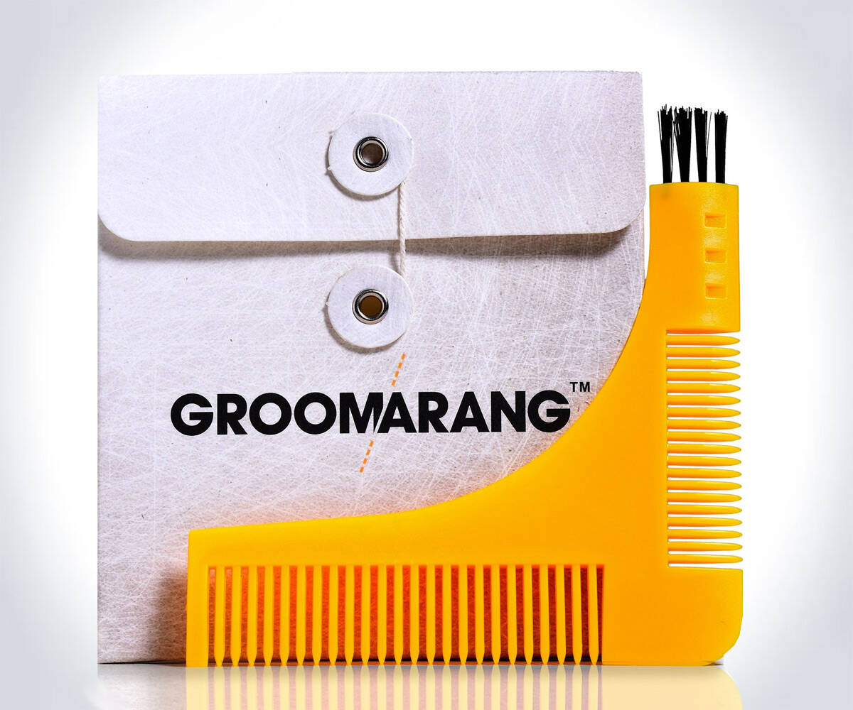 Groomarang Beard Styling & Shaping Template - coolthings.us