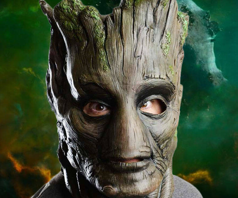 Guardians Of The Galaxy Groot Mask - http://coolthings.us