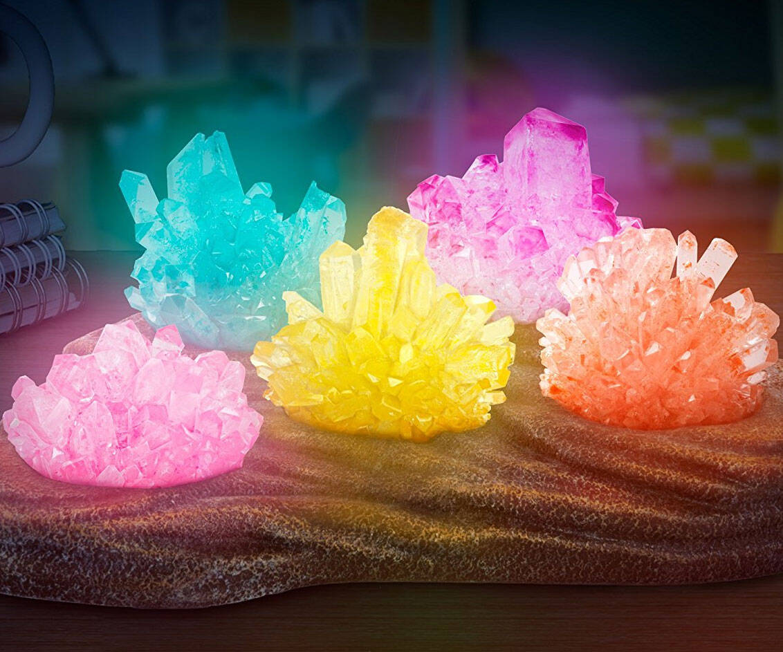 Grow Your Own Crystal Nightlight - coolthings.us