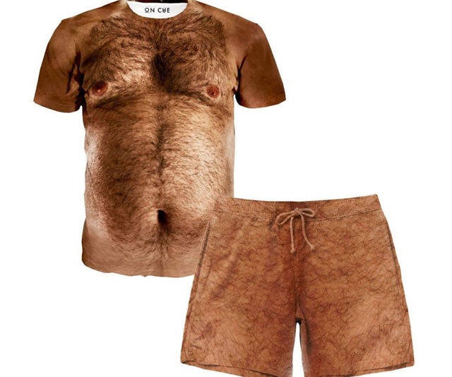 Hairy Chest Outfit - coolthings.us