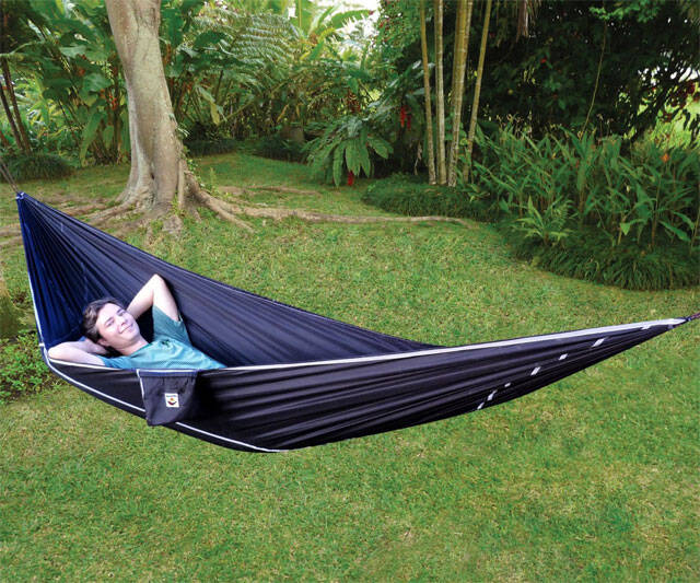 Hammock Bliss Sky Bed - http://coolthings.us