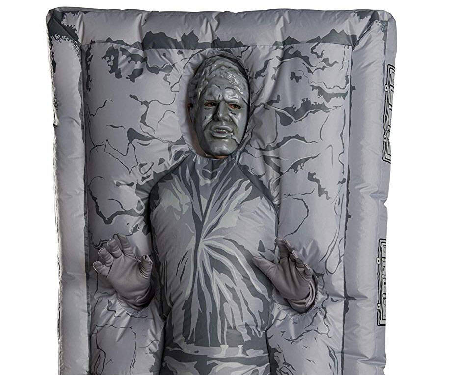 Han Solo in Carbonite Inflatable Costume - coolthings.us