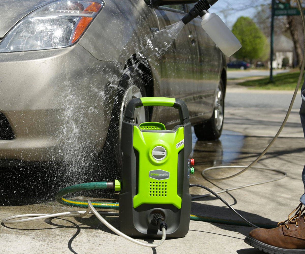 Handheld Electric Pressure Washer - http://coolthings.us