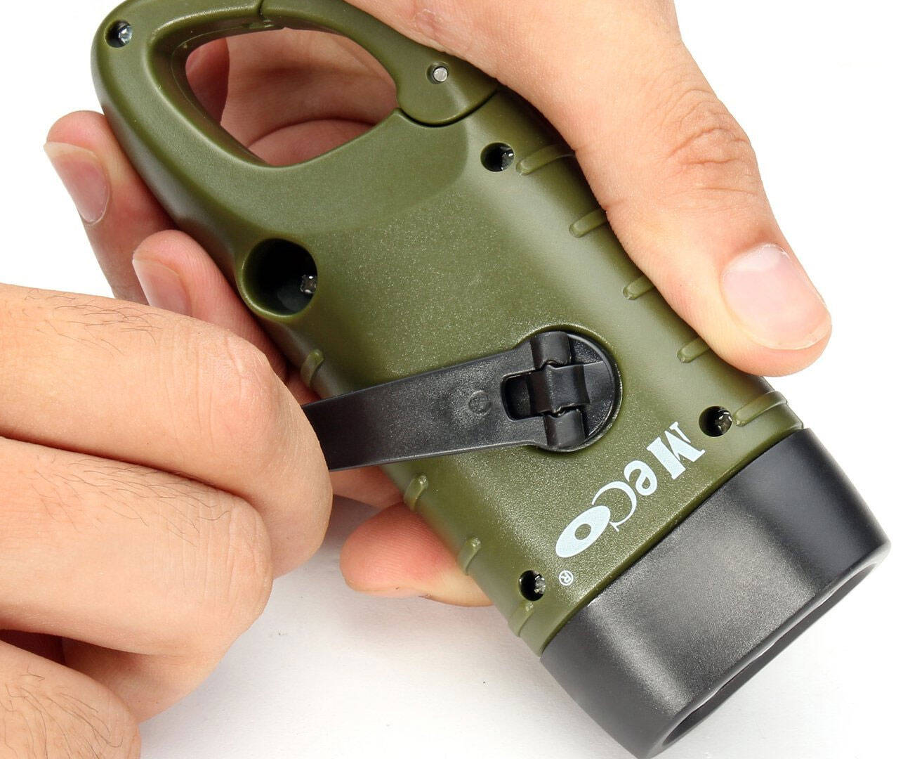 Emergency Hand Crank Flashlight - http://coolthings.us