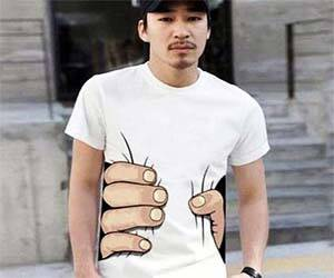 Hand Squeeze Shirt - http://coolthings.us