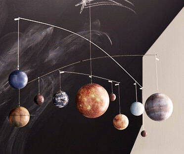 Hanging Solar System Mobile - http://coolthings.us