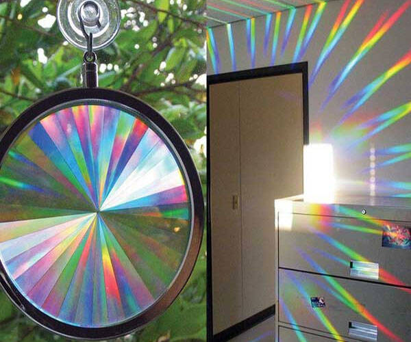 Rainbow Window Sun Catcher - http://coolthings.us