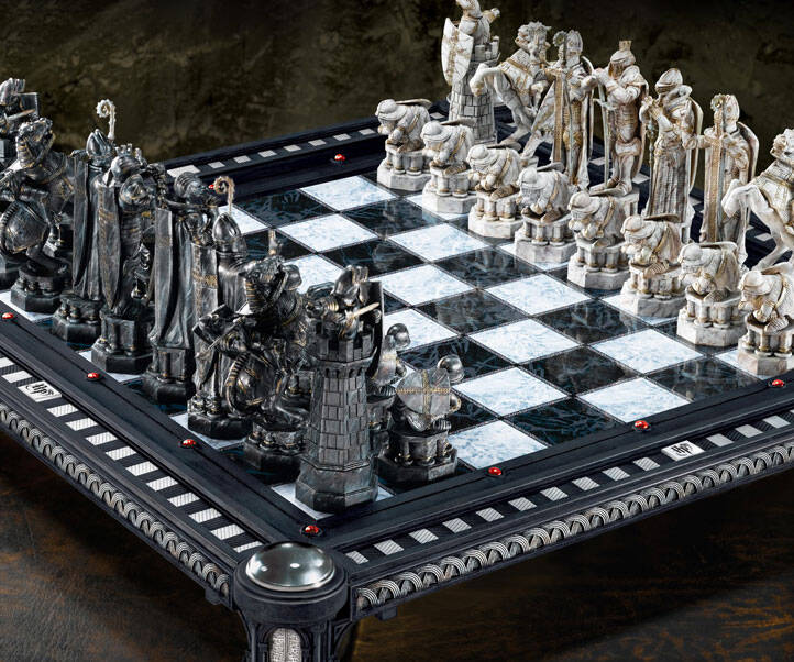 Harry Potter Chess Board - http://coolthings.us