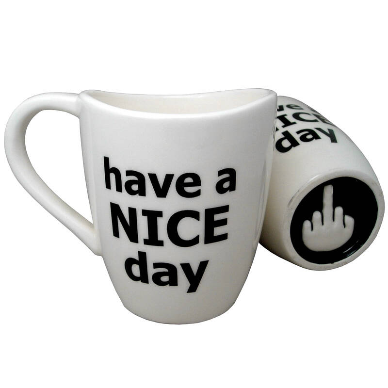 Have a Nice Day Coffee Mug - http://coolthings.us