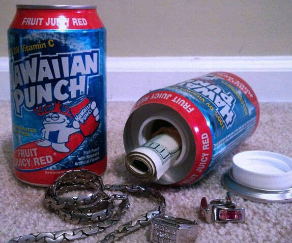 Hawaiian Punch Stash Can - http://coolthings.us