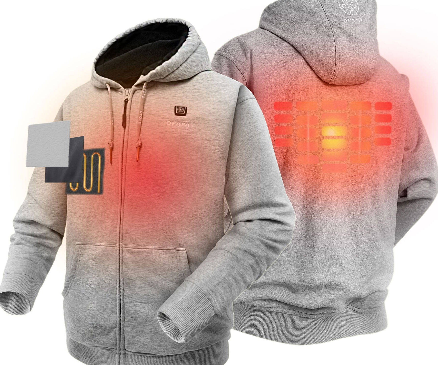 Heated Hoodie - http://coolthings.us