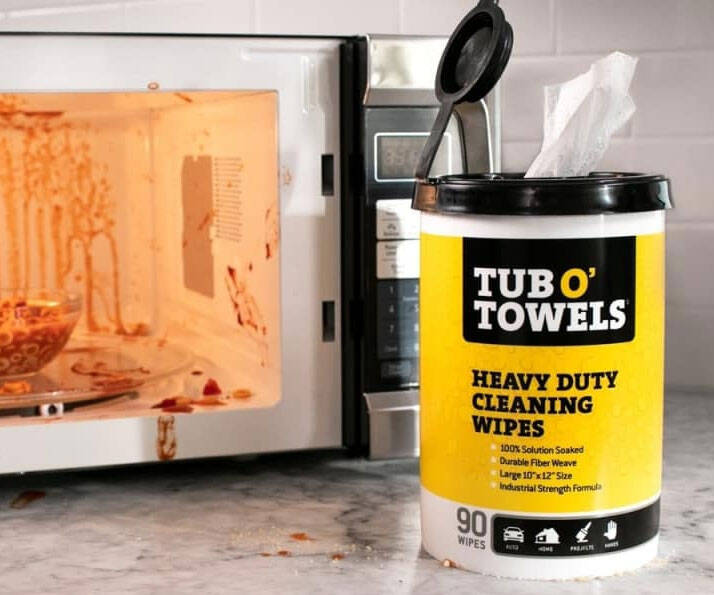 Heavy Duty Cleaning Wipes - http://coolthings.us