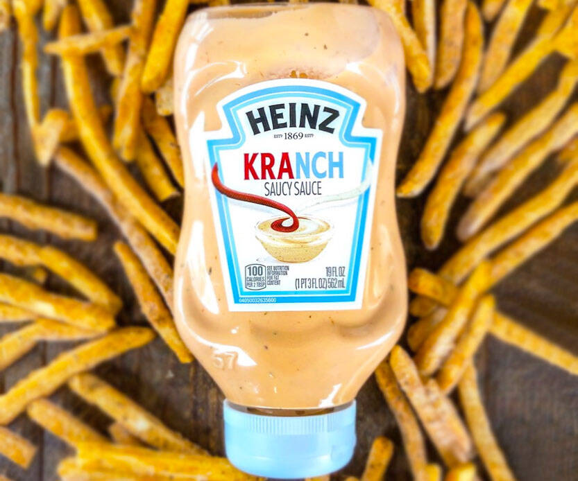 Pre-Mixed Ranch & Ketchup Sauce - http://coolthings.us