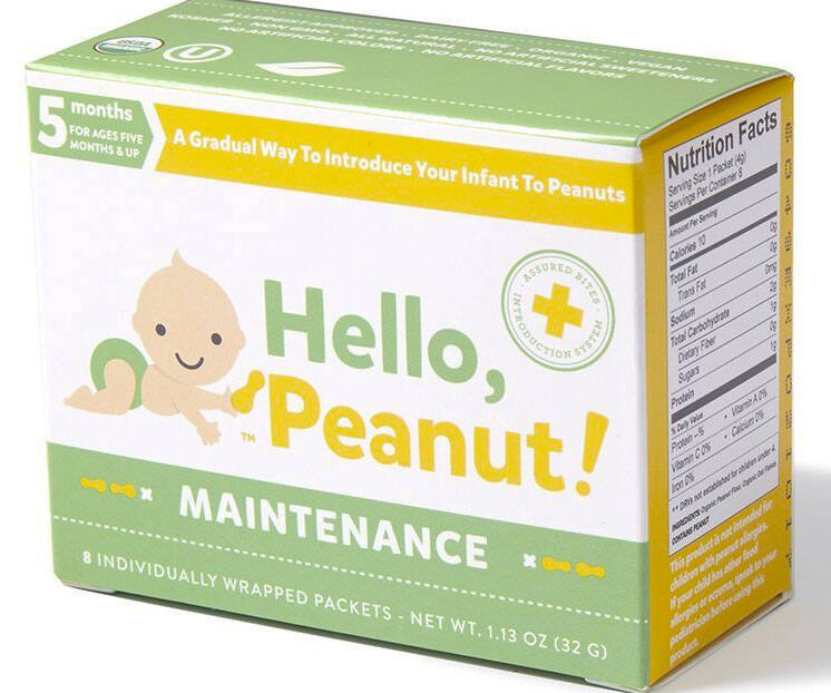 Infant Peanut Introduction Kit - http://coolthings.us