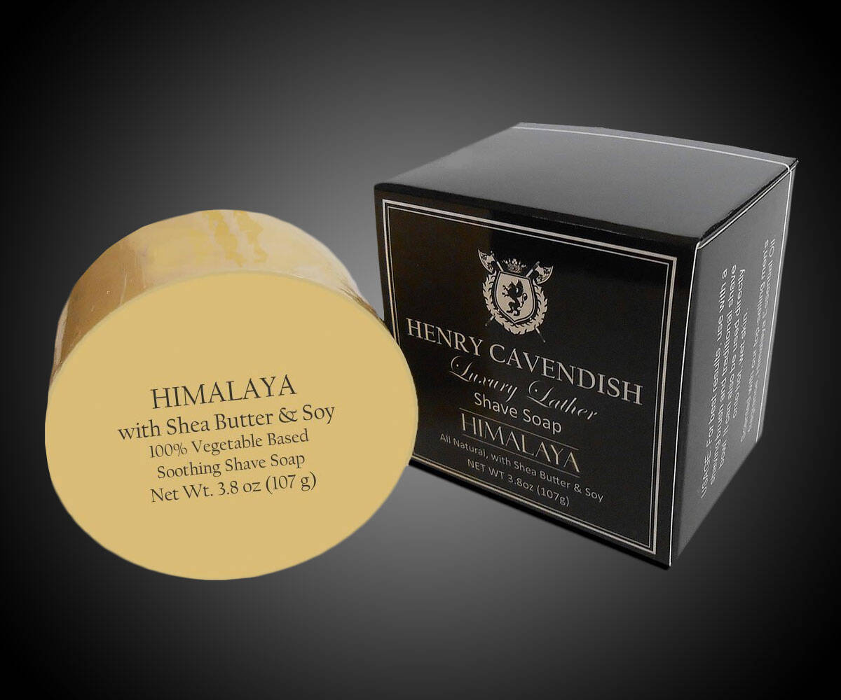 Henry Cavendish Himalaya Shaving Soap - http://coolthings.us