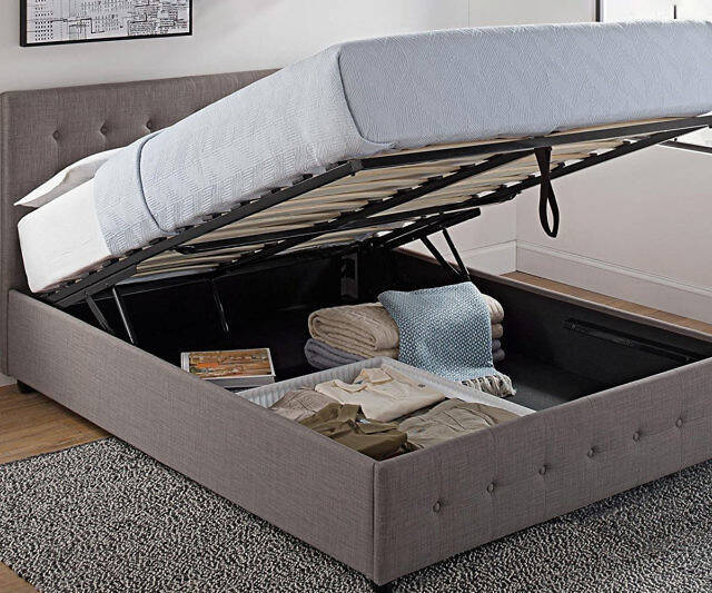 Hidden Storage Compartment Bed - http://coolthings.us