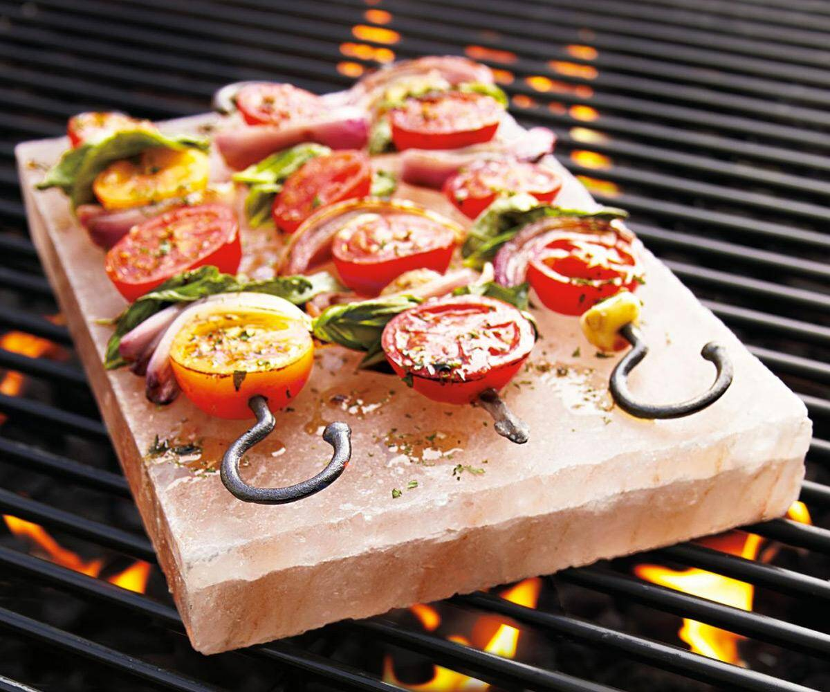 Himalayan Crystal Salt Cooking Tile - http://coolthings.us