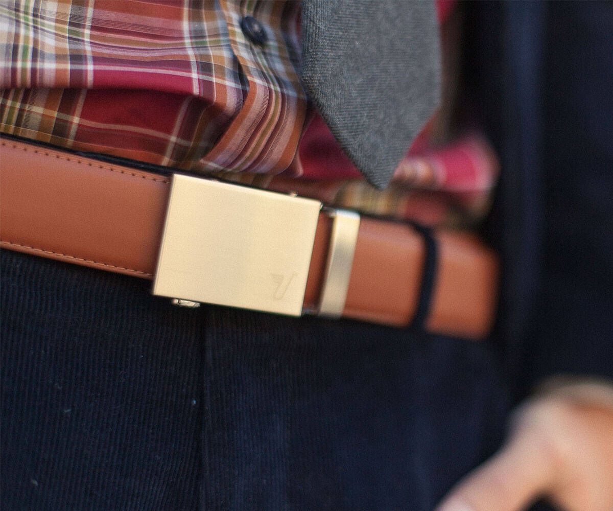 Micro-Adjustable No-Holes Belt - http://coolthings.us