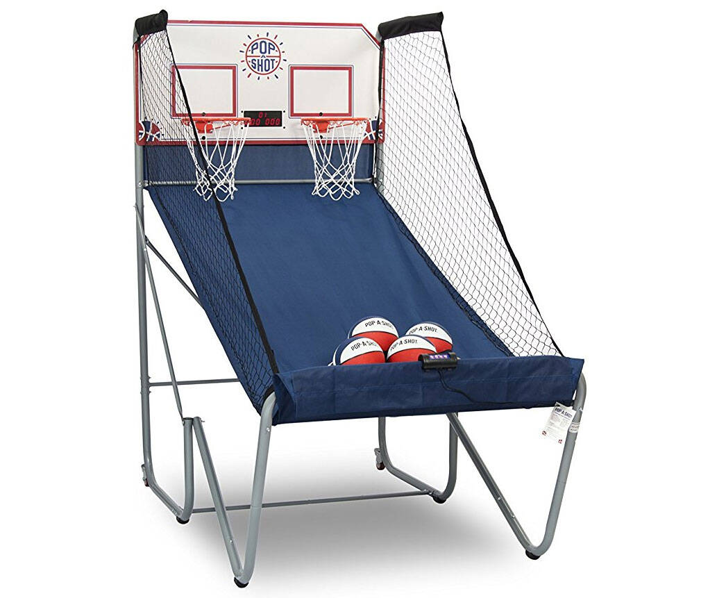 Dual Shot Basketball Arcade Game - coolthings.us
