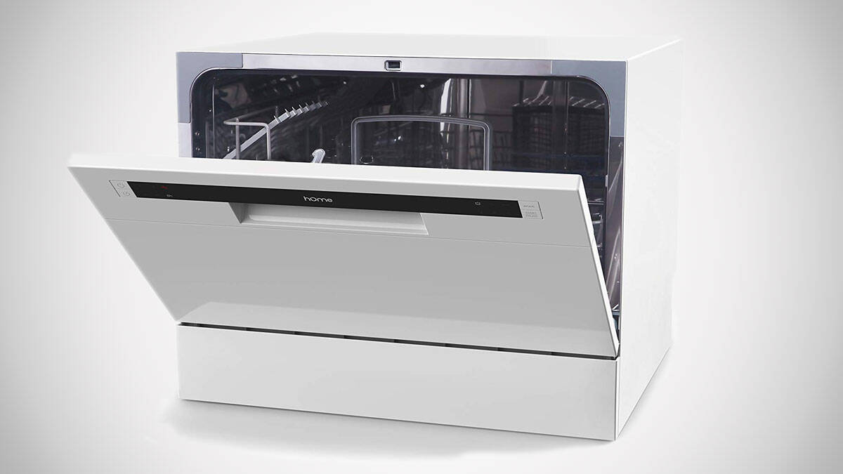 hOmeLabs Portable Countertop Dishwasher - http://coolthings.us