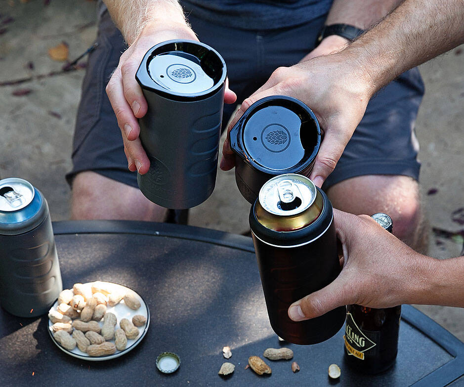 Hopsulator Trio 3-in-1 Beer Cooler - http://coolthings.us