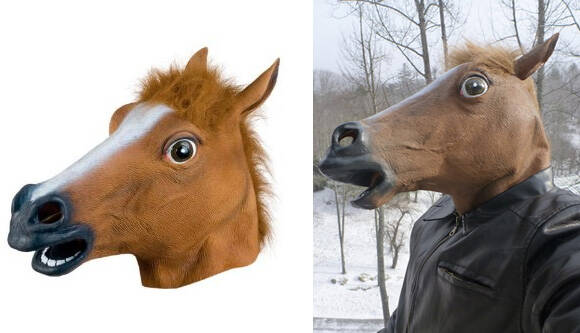 Horse Head Mask - http://coolthings.us