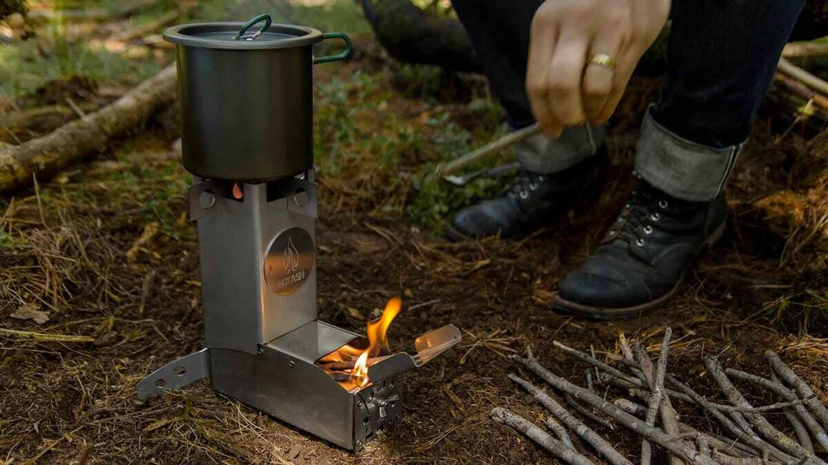 Hot Ash Stove - http://coolthings.us