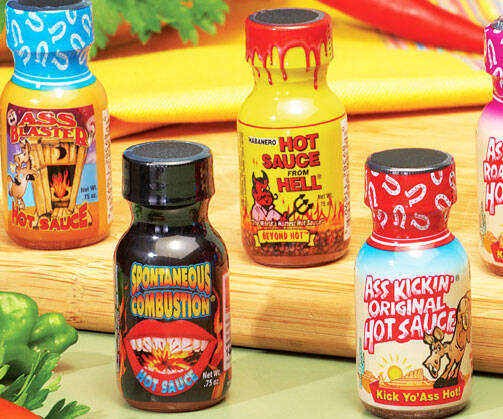 Hot Sauce Challenge Pack - http://coolthings.us