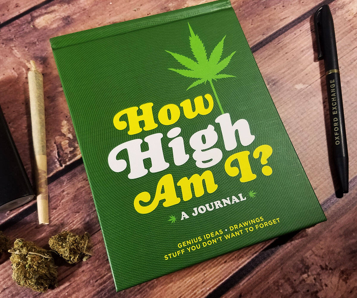 How High Am I Journal - coolthings.us