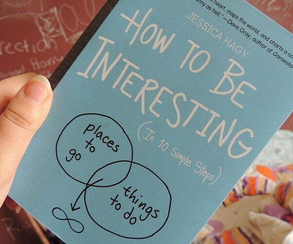 How To Be Interesting Book - http://coolthings.us