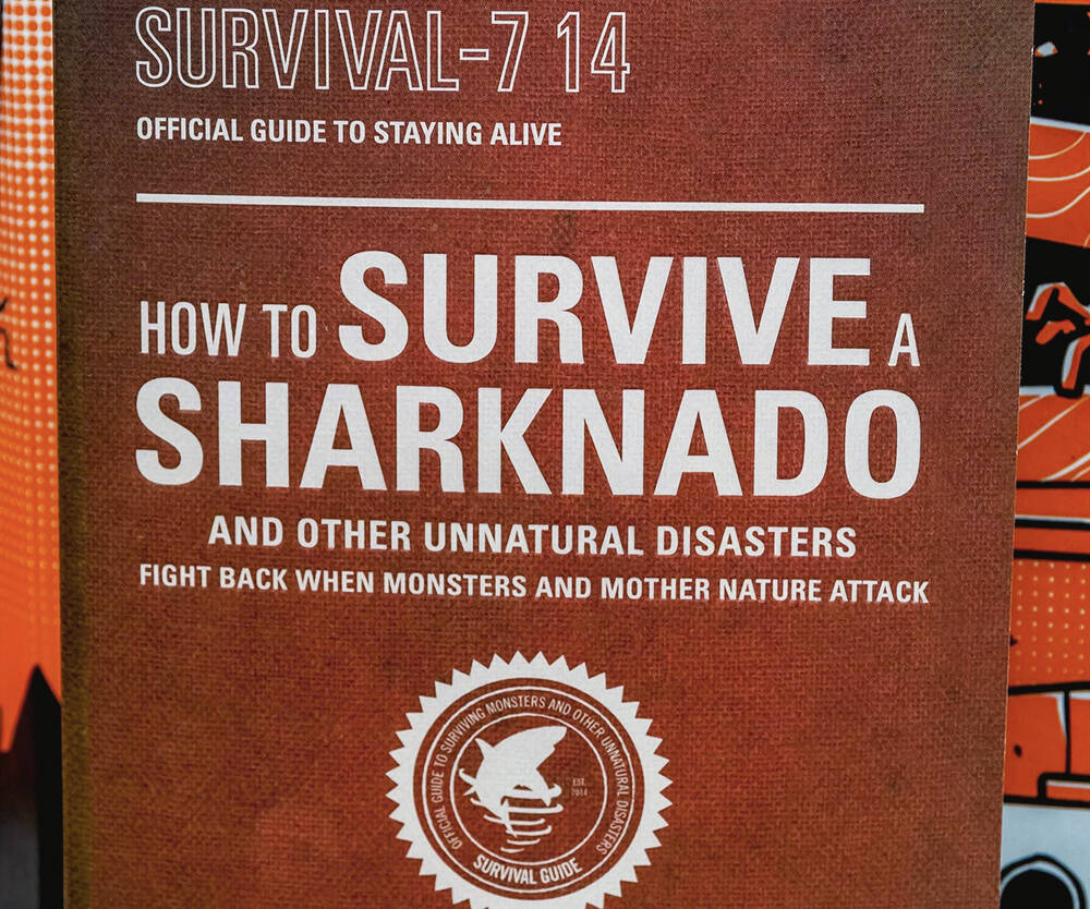 How To Survive A Sharknado Book - http://coolthings.us