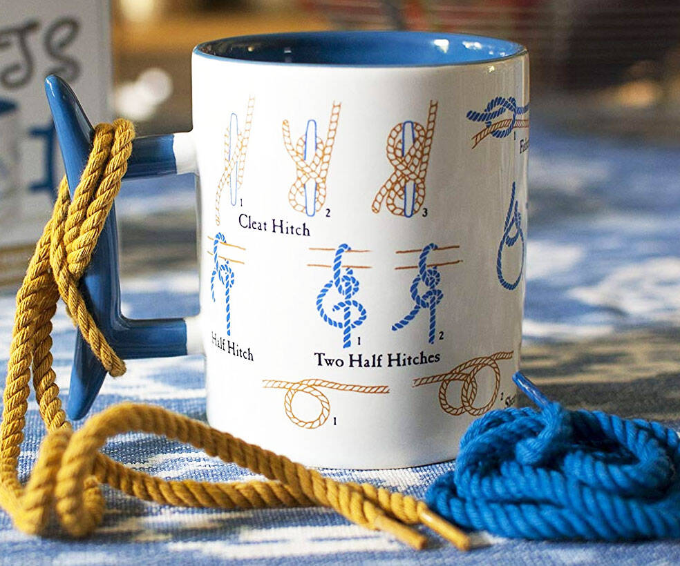 How To Make Knots Coffee Mug - http://coolthings.us