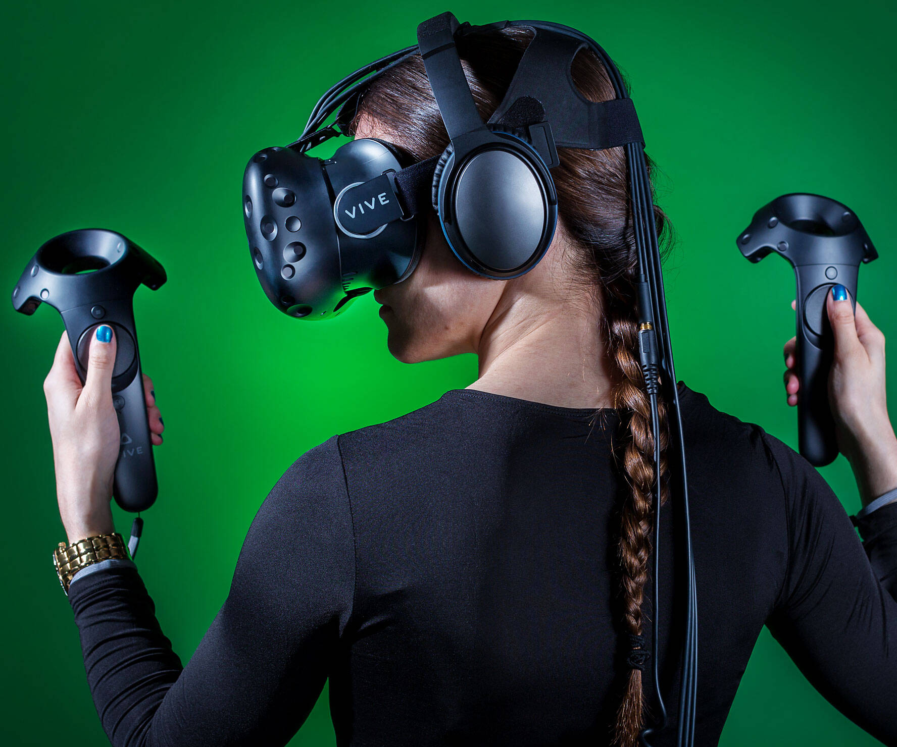 HTC Vive Virtual Reality Headset - http://coolthings.us