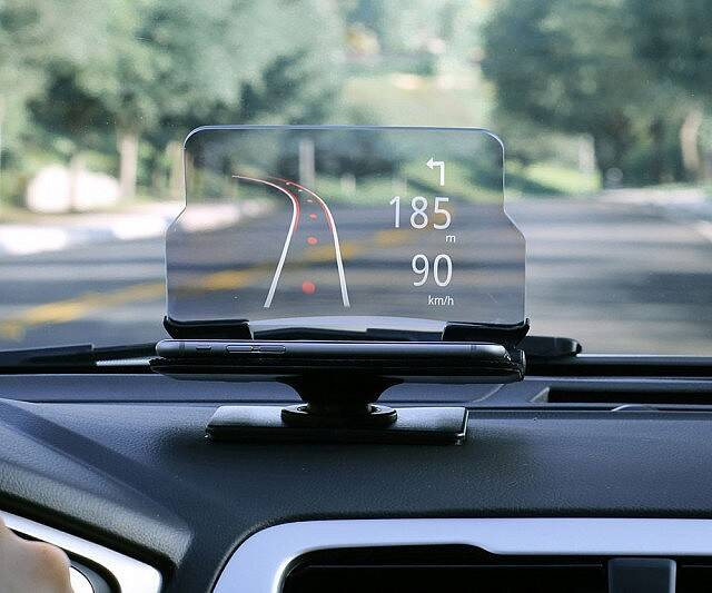 Smartphone Heads Up Display System - coolthings.us