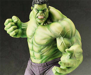 Hulk Statue - http://coolthings.us
