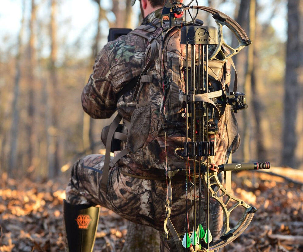 Hunting Bow Backpack - http://coolthings.us