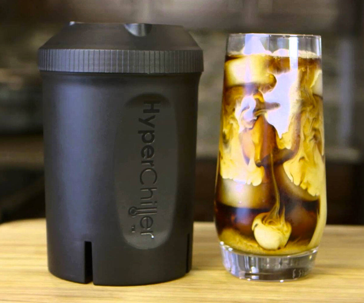 HyperChiller Iced Coffee Maker - http://coolthings.us