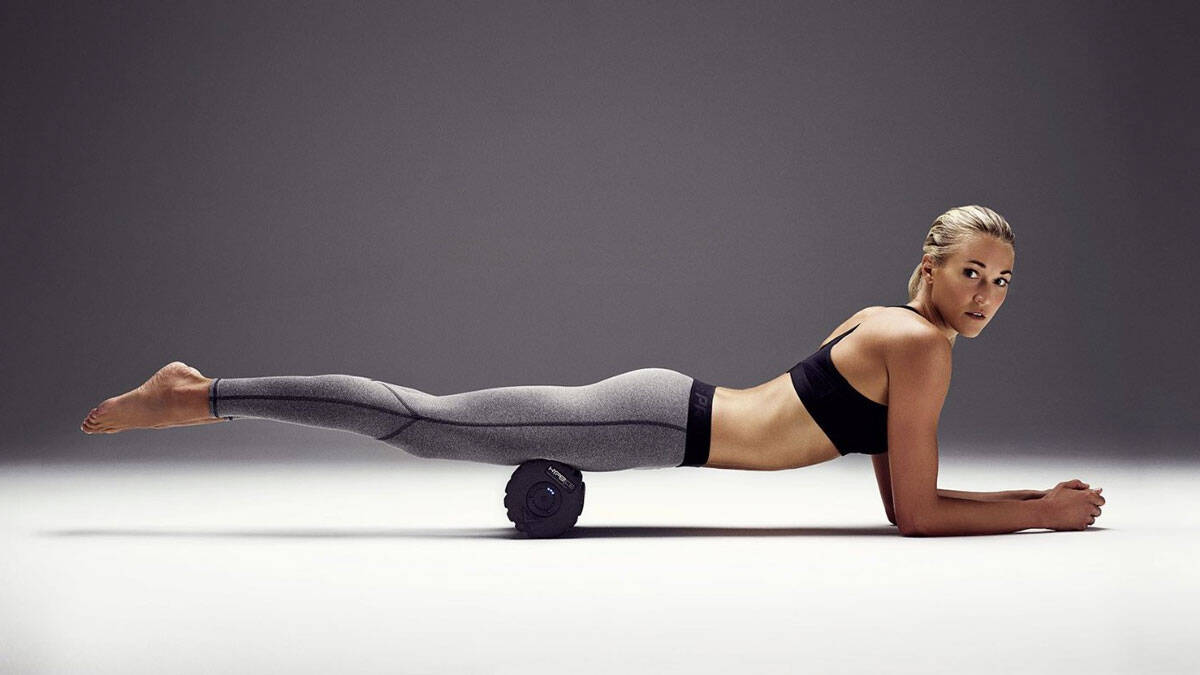 HyperIce Vyper Vibrating Foam Roller - http://coolthings.us