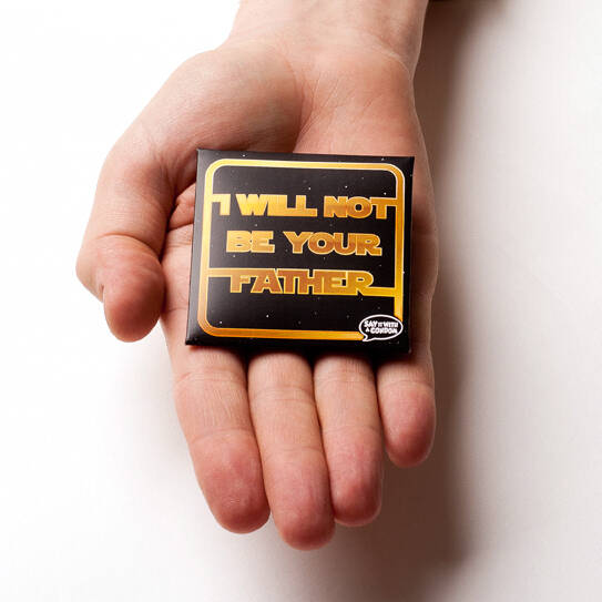 I WIll Not Be Your Father Condom - http://coolthings.us